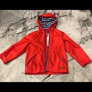Carters Red Rain Coat Size 4T